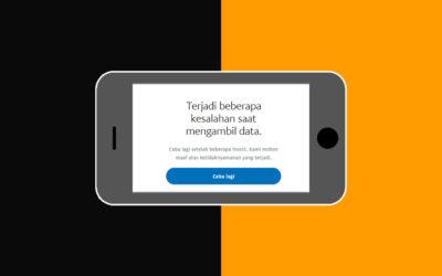 Cara Mengatasi Paypal Terjadi Beberapa Kesalahan Saat Mengambil Data