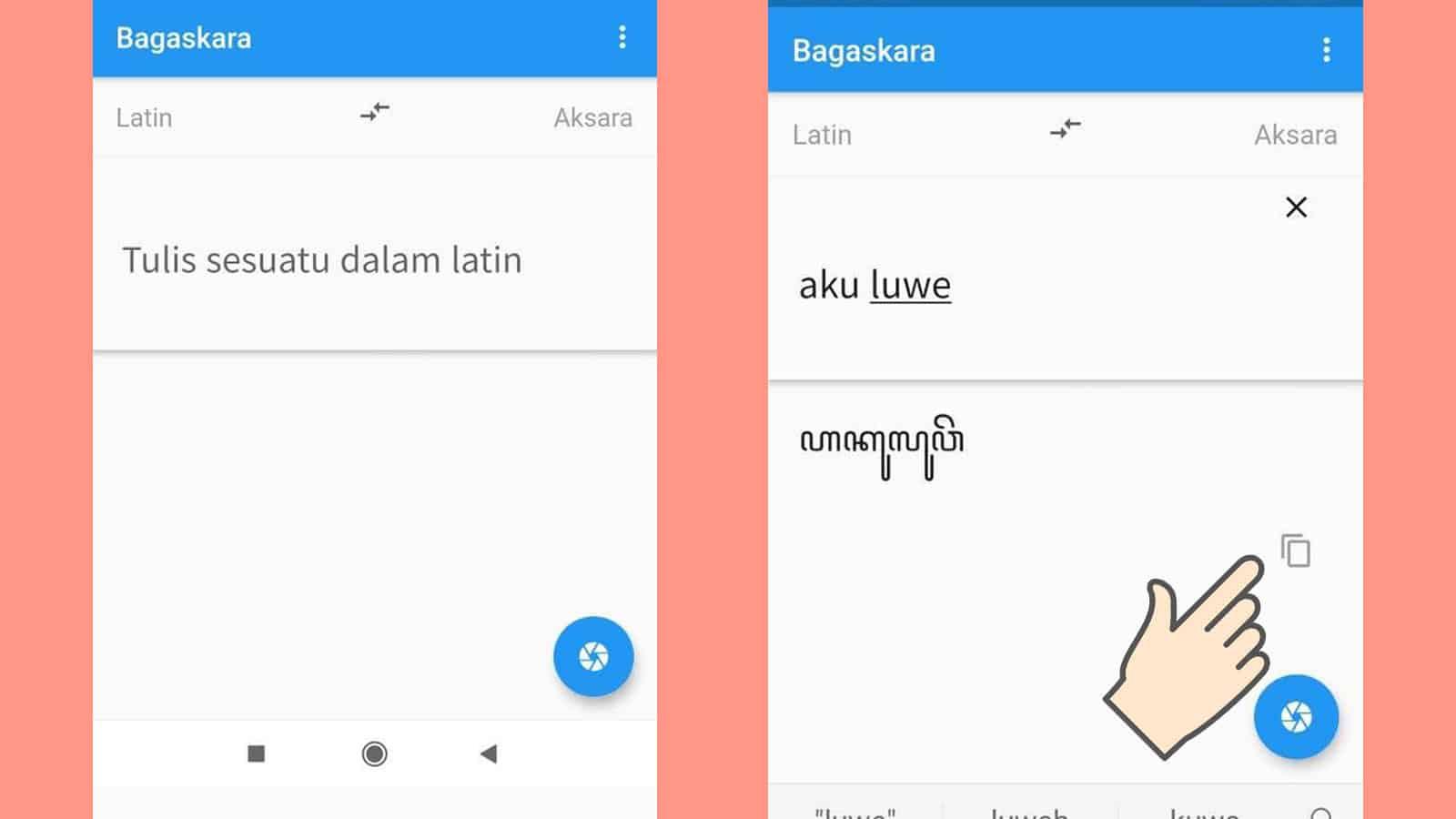 Mengubah Huruf Latin ke Aksara Jawa dengan Aplikasi Tanpa Online